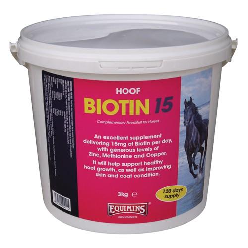 Ogromny Biotyna - EQUIMINS Biotin 15 EQUILAND Sklep Jeździecki CT18